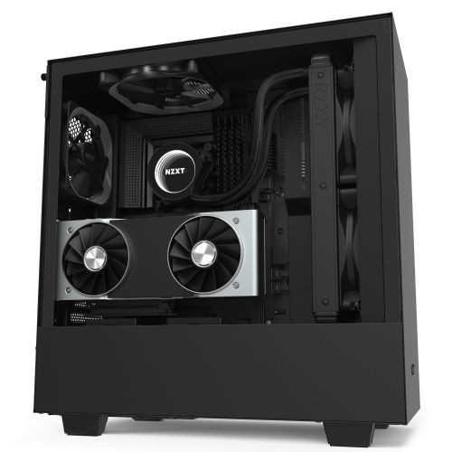 NZXT H510i Matte Black Mid Tower Case